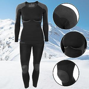 Ropa Interior para esquí