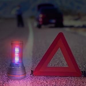Red/Blue Strobe Light Mode: