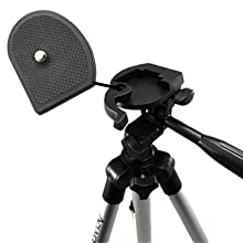 quick release being removed from 50 inch tripod