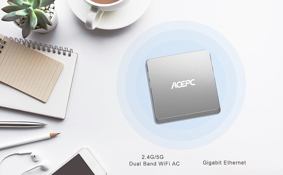 mini pc wifi 2.4g 5g