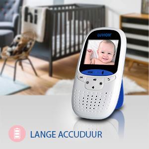 LUVION, babyfoon, babyphone, accuduur, babymonitor, baby monitor, baby