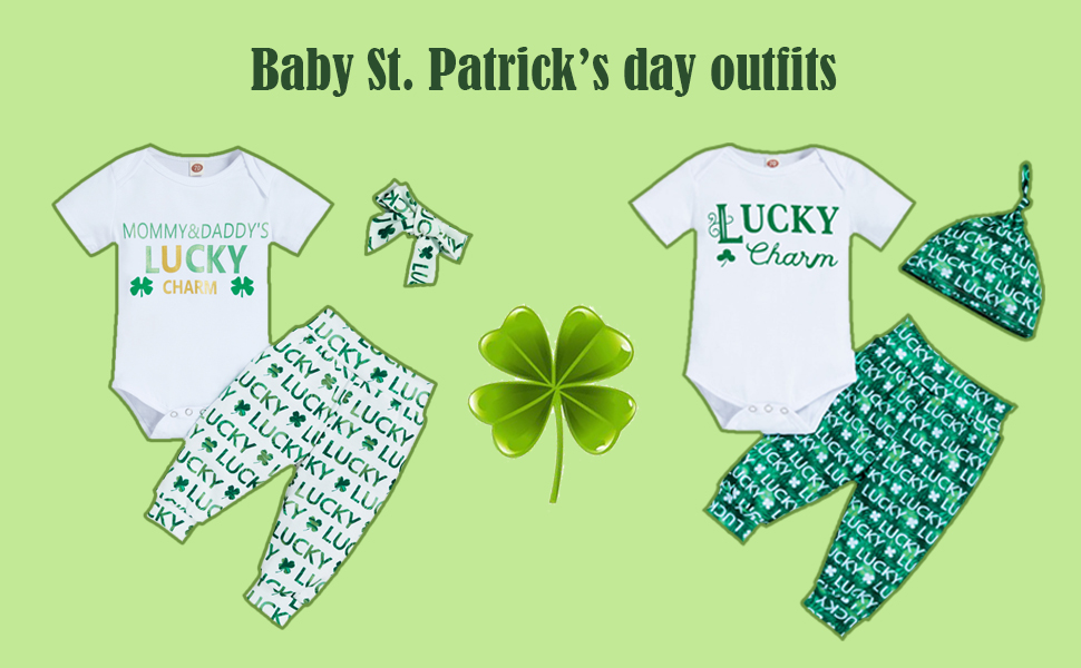 baby boy St. Patrick's day outfits