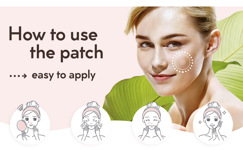 How to use acne patches
