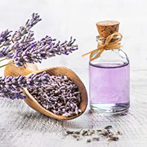 Enriched with lavender