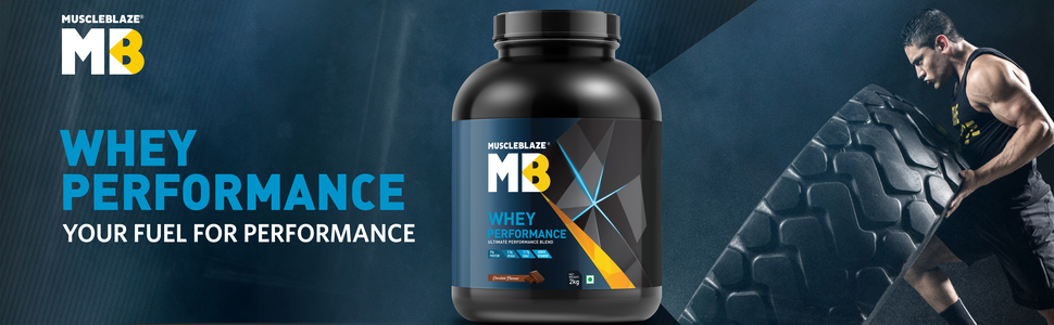 MuscleBlaze Whey performance- A jar of Power-packed performance