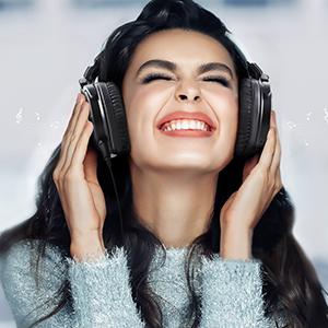 High quality sound headphones