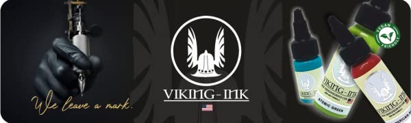 Tinta para tatuaje. VIKING INK Black Tribal 4oz (120ml.): Amazon ...