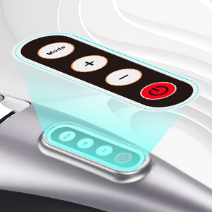 Stylish & Easy to Use Simple Control Panel with 4 buttons Mode button: choose the best mode you like