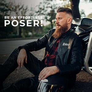 Beardo Leather Jacket, Jacket, Leather Jacket,Men's Jacket