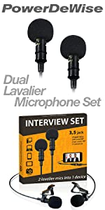 Android Type-C Microphone - Lavalier Mic Type C for Android - Phone Microphone Android with Type-C