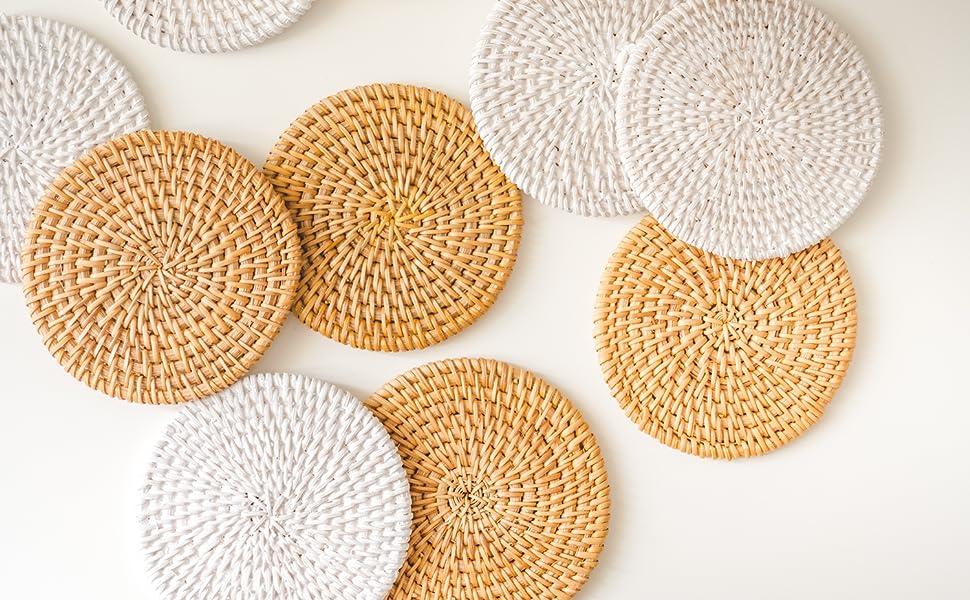 woven coasters