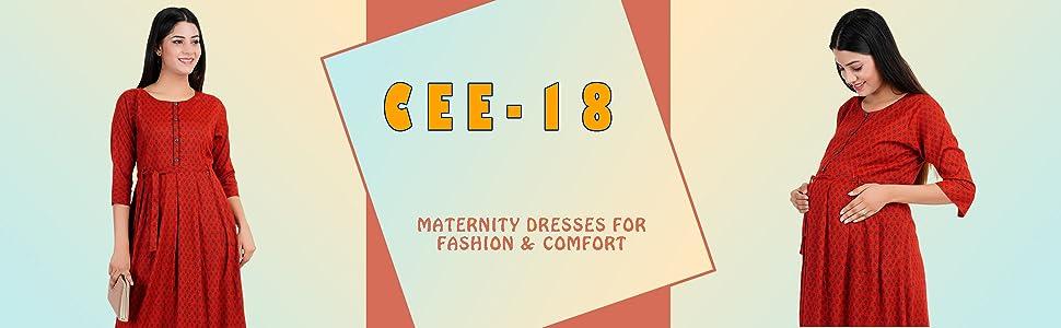 CEE18 MATERNITY/FEEDING DRES