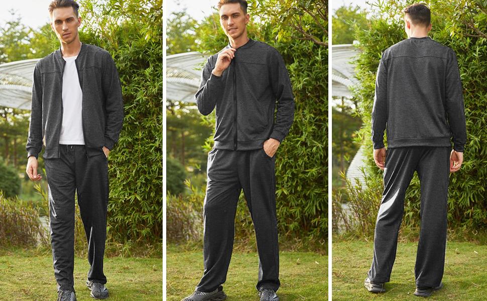 men's jogging suits sets