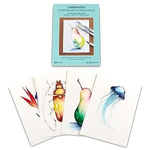 Chromatek Watercolor Tutorial Pad
