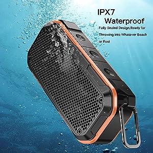 IPX7 Waterproof & Dustproof