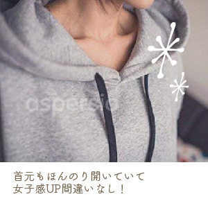 Aspersio Women's Long Sleeve Hoodie Dress with Hood