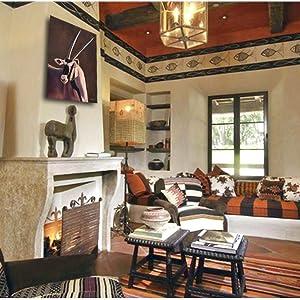 gemsbok gem african living room home decor staging