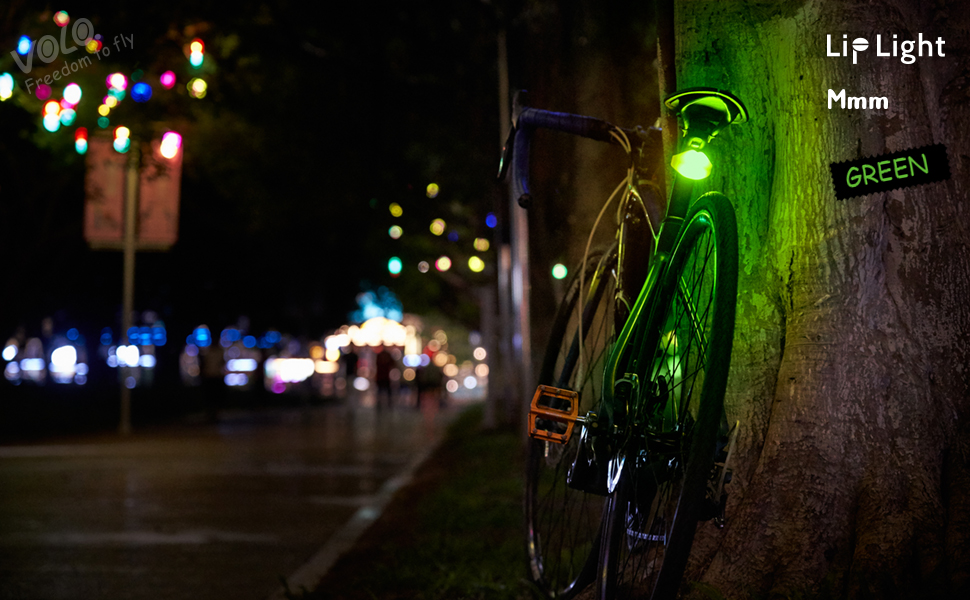 creative bike light