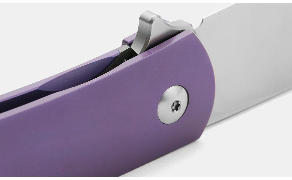 Drop + Laconico Keen Spear-Point Titanium Frame Lock Folding Knife