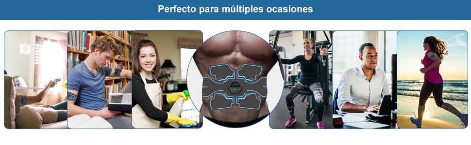 electroestimulador muscular abdominales