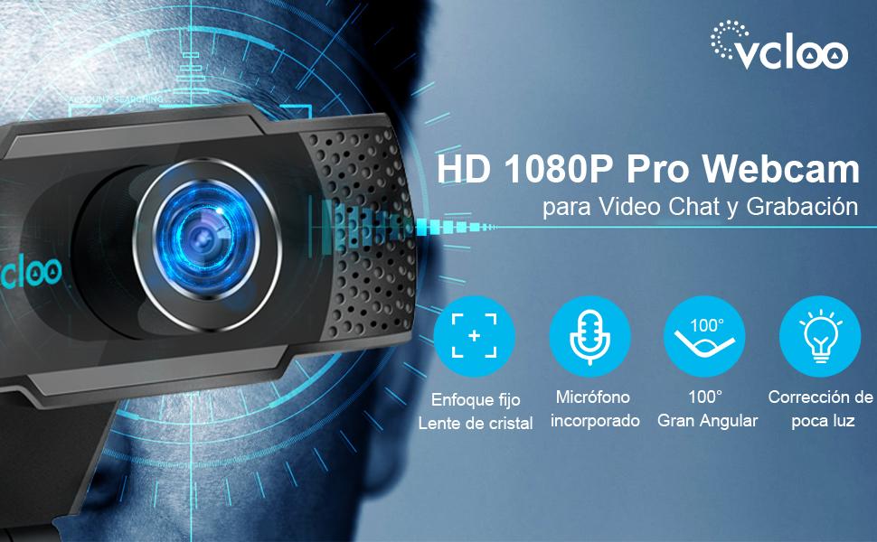 Cámara Web 1080P
