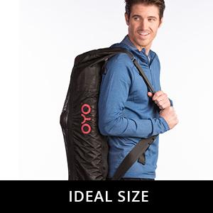 oyo fitness shoulder bag ideal size