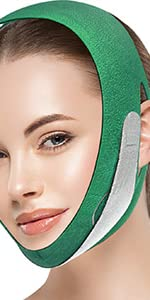 Face Slimming Strap-Green