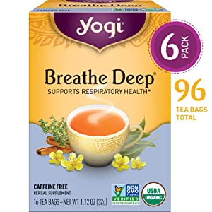 yogi breathe deep tea supports respiratory health
