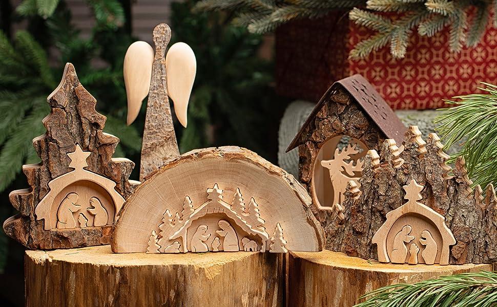 Farmhouse Christmas ornaments Farmhouse Christmas decorations Handmade Christmas ornaments