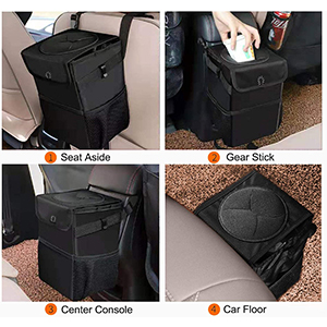 automotive garbage cans