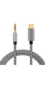 Altavoz y Auriculares: Compatible con Samsung Galaxy S10 Note 10+ Note 10 Cable Matters Cable USB C a Aux 3.5 mm de 4 pies para est/éreo de autom/óvil S10 + Google Pixel 4 XL y m/ás