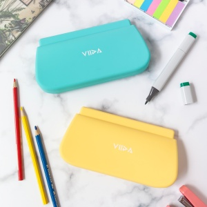 stationary;pencil bag;yellow pouch;water-proof