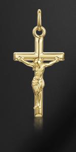 Ciondolo Crocifisso in oro