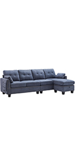 4 Seat Sectional sofa couch