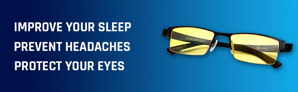 KLIM Optics Anti Blue Light Glasses
