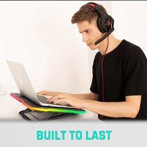 KLIM Ultimate, laptop cooler, RGB laptop cooler, laptop fan, RGB laptop fan, gaming cooler, gaming