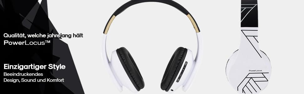 Bluetooth-Headset-Qualität Kopfhörer weiches Stirnband und Ohrenschützer Kopfhörer mit HD-Stereo
