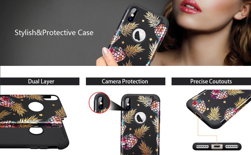 iphone xs max case pineapple