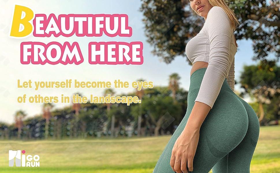 Vital Seamless Yoga Pants Tummy Control Butt Lift Gym Active Tights