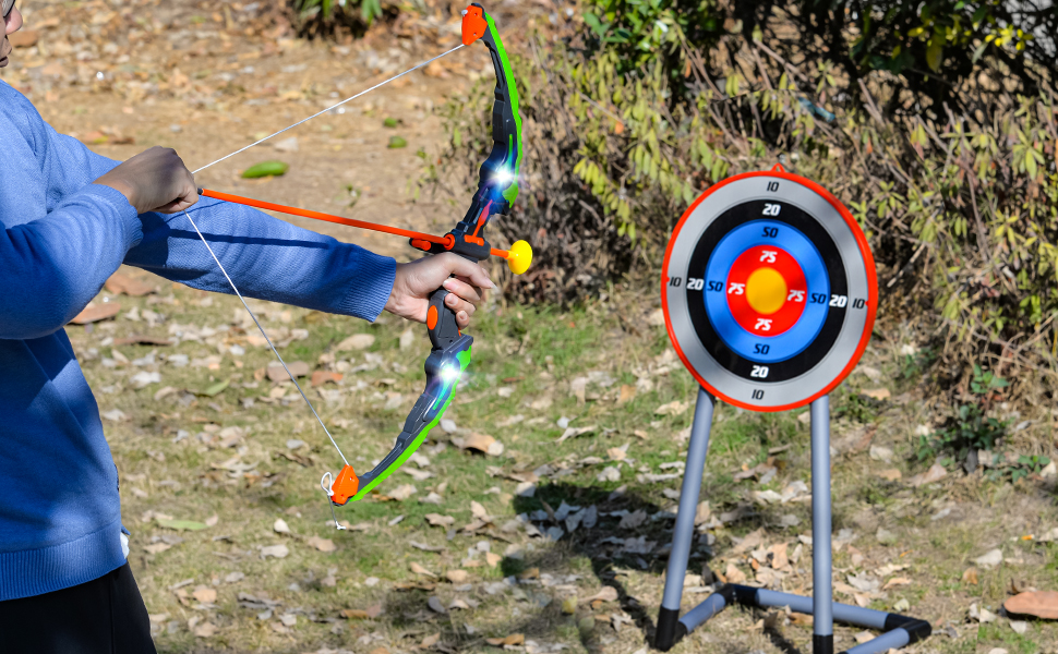 bow and arrow for kids outdoor play
