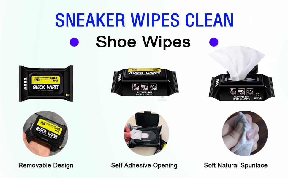 shoe cleaner wipes