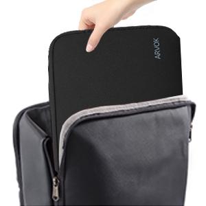 Viking Odin Raven Laptop Sleeve Cool Printed Notebook Sleeve Scratch Resistant Neoprene Tablet Handbag for Businessmen Office Staff White 13inch