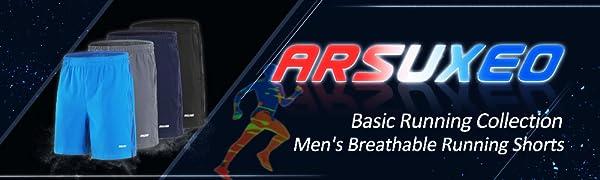Men's breathable running shorts