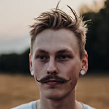 mustache styled