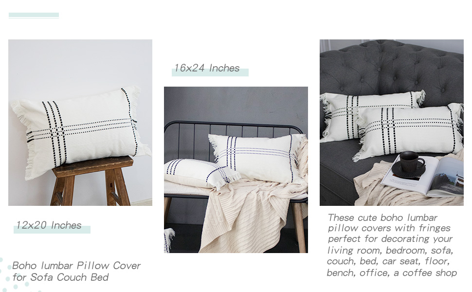 boho pillow cover neutral throw pillows farmhouse modern pillow covers bed throw pillows