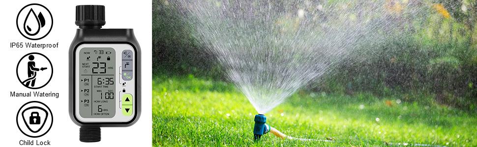 Sprinkler Timer Digital