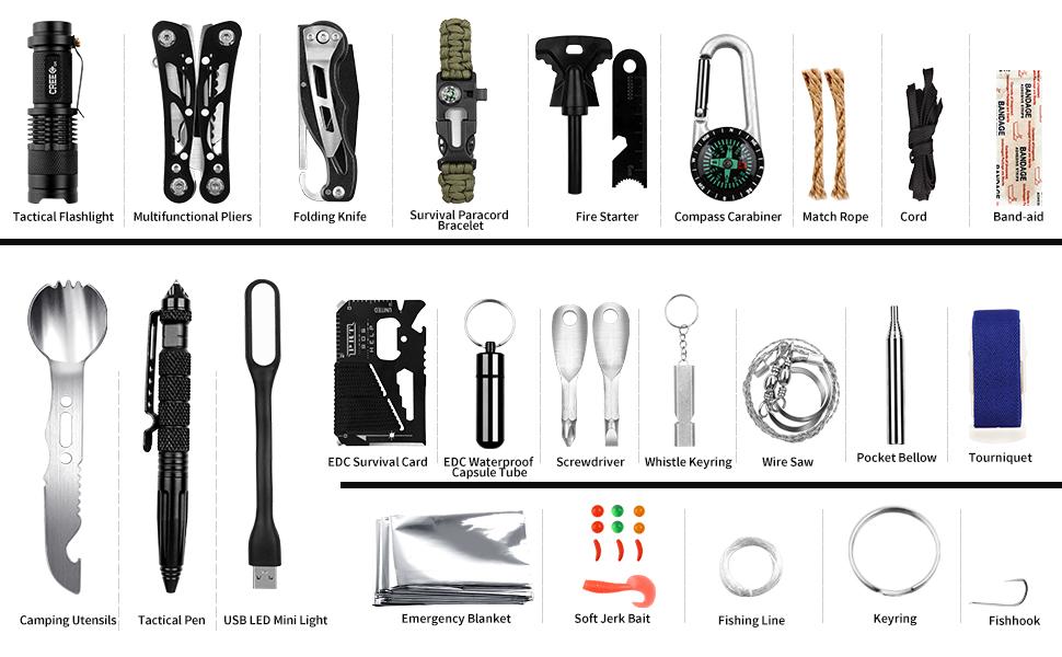 survival gears