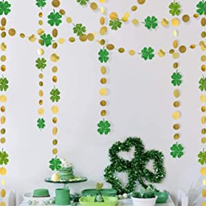 Hanging St. Patrick's Day Garland