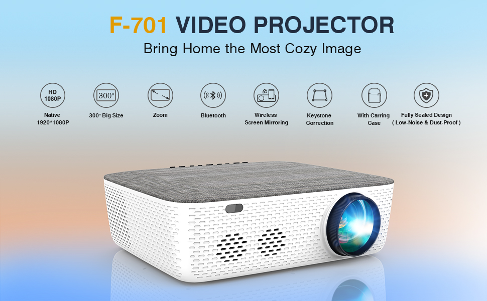 Best WiFi Projector for iPhone