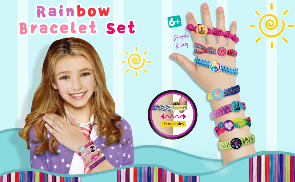 friendship bracelet making kit for girls